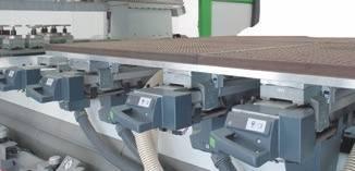 Два станка в одном: все функции и качество настоящего стола пантографа обеспечиваются CFT (Convertible Flat Table)