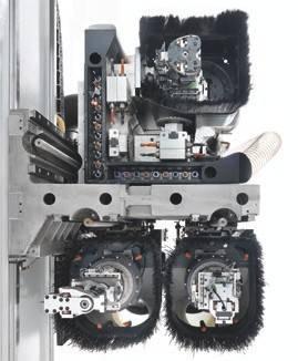 Конфигурация станка с 3-мя, 4-мя или 5-ю осями