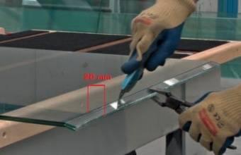 Автоматический раскрой + разлом + ручное разделение: 20 мм (опция)