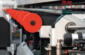 Автоматический раскрой + разлом + разделение: 20 мм (опция)