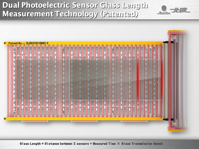 Система измерения длины стекла