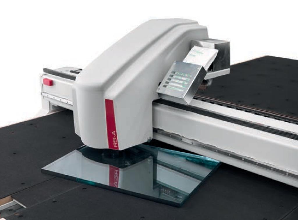 Лазерное сканирование положения стеклянного листа