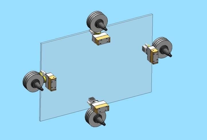Линейная и фигурная обработка кромки стекла