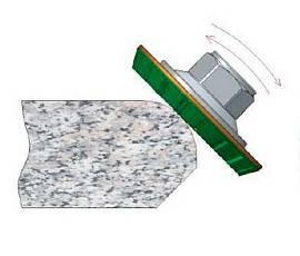 Алмазные круги на кромочные станки для накатки профиля (generating)