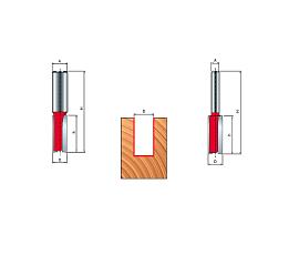 Концевые фрезы с напайными твердосплавными элементами (HW)