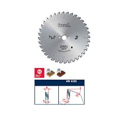 Дисковые пилы для поперечного пиления древесины на радиальных и маятниковых станках.