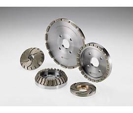 Алмазные круги на кромочные станки для первичной обработки кромки (pre-cutting)